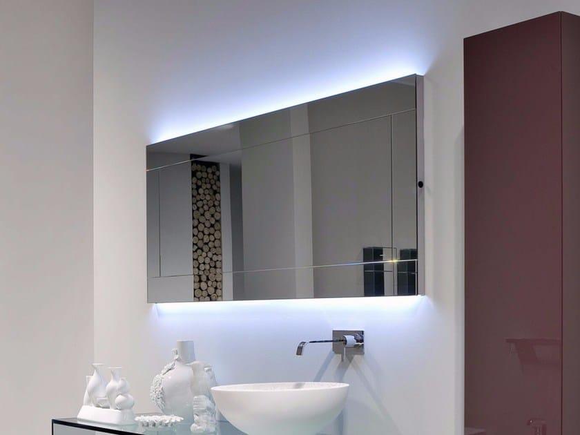 Bathroom mirror with integrated lighting DAMA - Antonio Lupi Design®