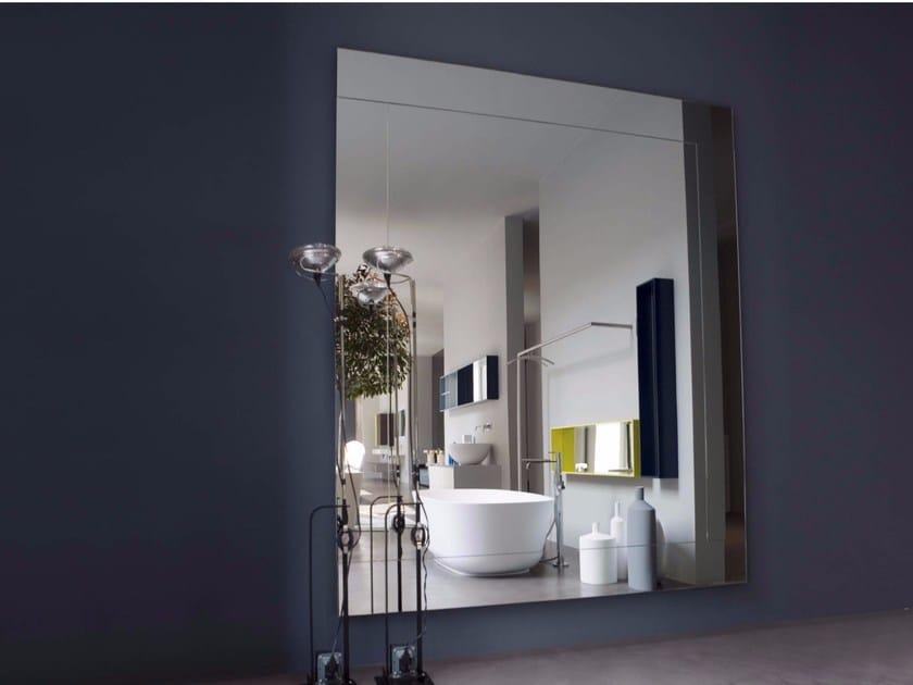 Rectangular wall-mounted bathroom mirror DAMONE - Antonio Lupi Design®
