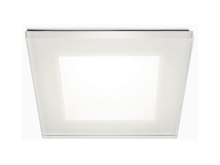 LED ceiling tempered glass spotlight DANAE HP 7W - Quicklighting