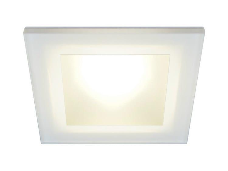 LED ceiling tempered glass spotlight DANAE LP 7W - Quicklighting