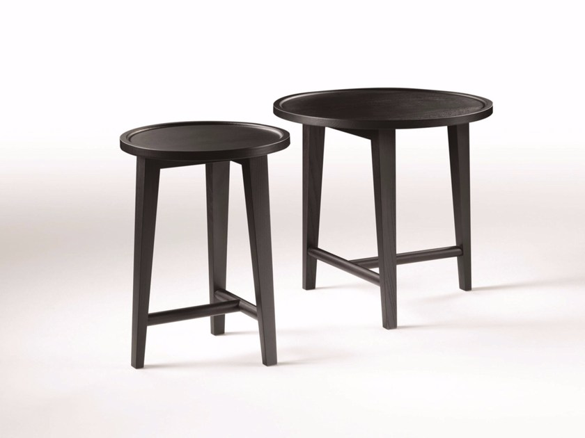 Round ash coffee table DANY by FLEXFORM