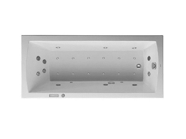 Vasca da bagno idromassaggio rettangolare da incasso daro vasca da bagno idromassaggio duravit - Vasca da bagno duravit ...
