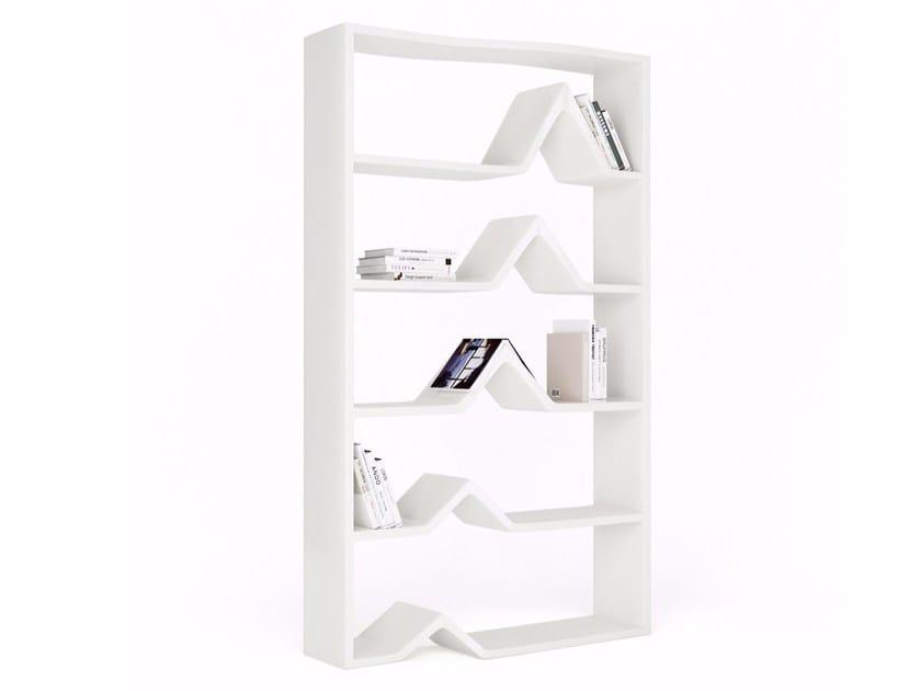 Open freestanding Adamantx® bookcase DARWIN by ZAD ITALY