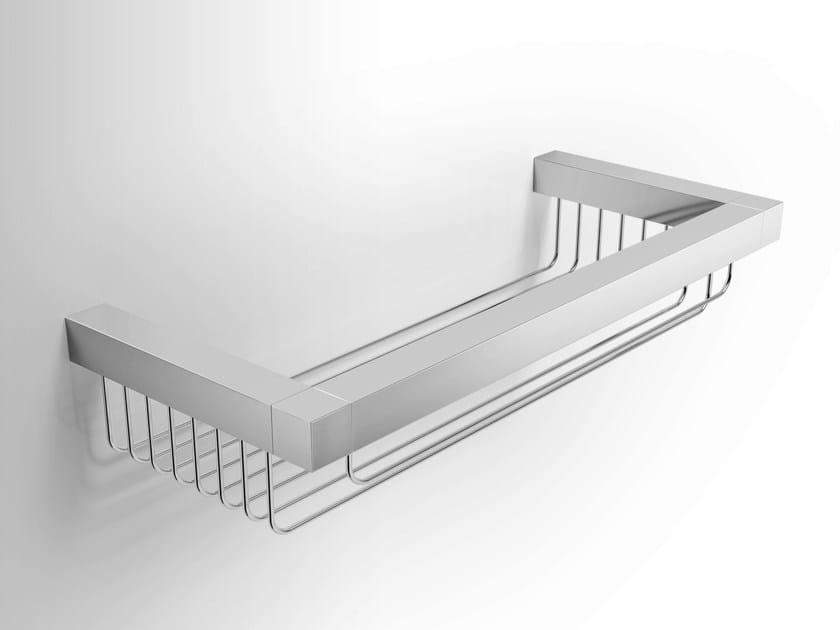 Metal bathroom wall shelf DATURA | Metal bathroom wall shelf - Alna