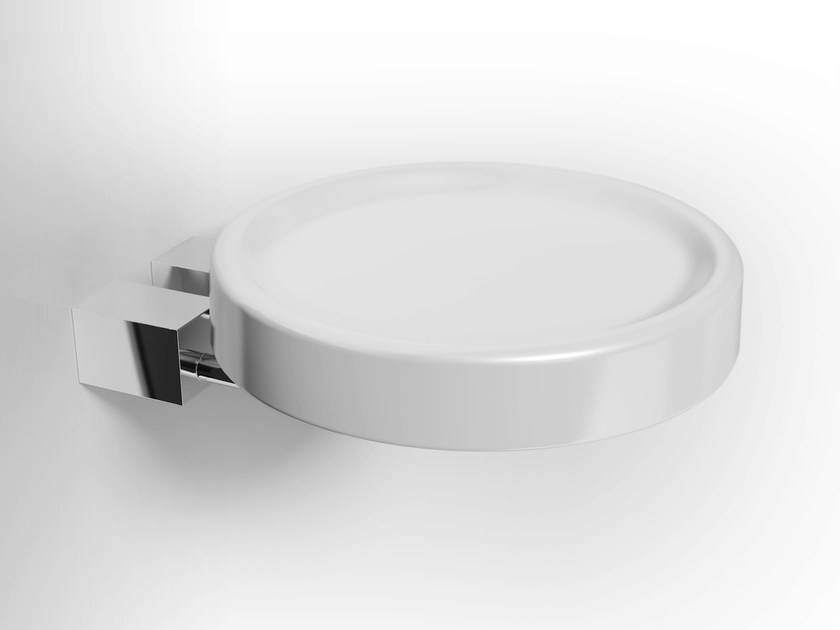 Wall-mounted ceramic soap dish DATURA | Ceramic soap dish - Alna