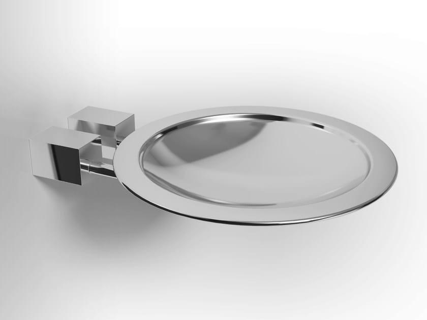 Wall-mounted metal soap dish DATURA | Metal soap dish - Alna