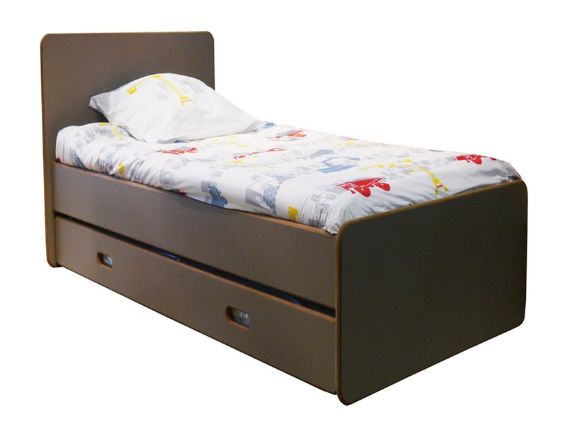 MDF single bed DAVID | Single bed - Mathy by Bols