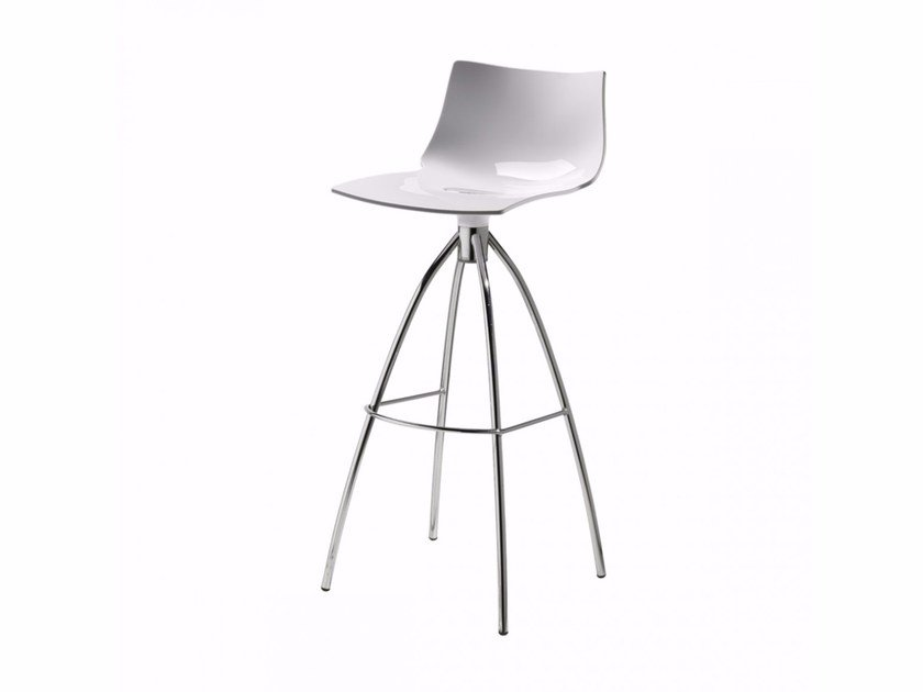High polycarbonate stool DAYLIGHT H80 - SCAB DESIGN