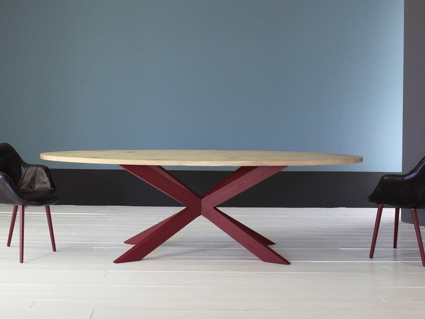 Wooden kitchen table DAYTONA | Table - Devina Nais