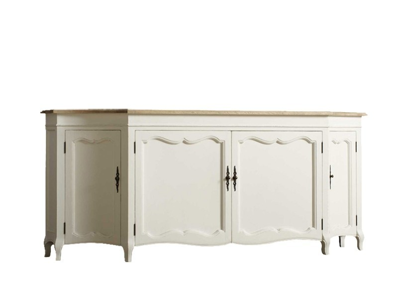 Lacquered oak sideboard with doors DB001650 | Sideboard with doors - Dialma Brown