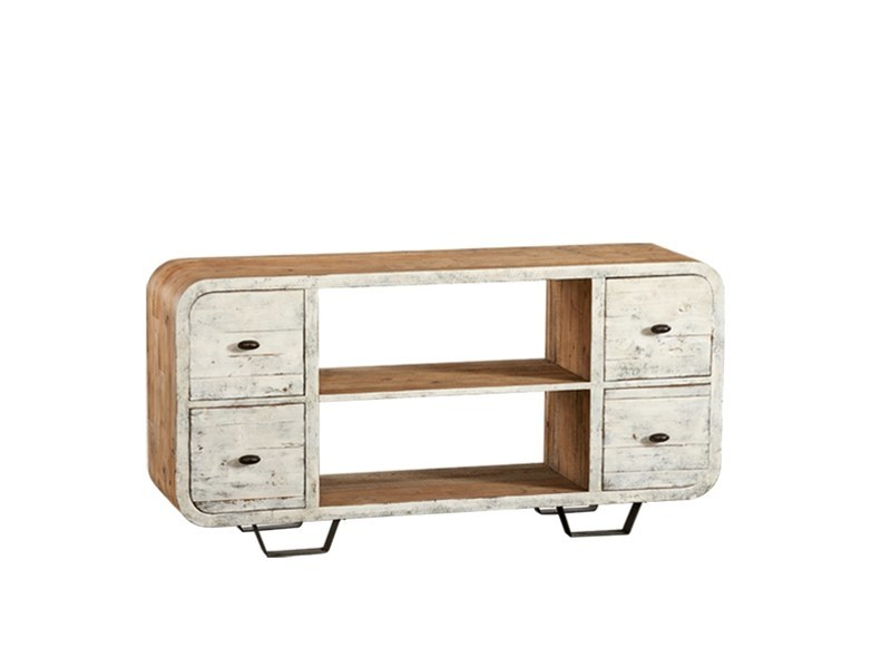 Lacquered pine sideboard with drawers DB003533 | Sideboard with drawers - Dialma Brown