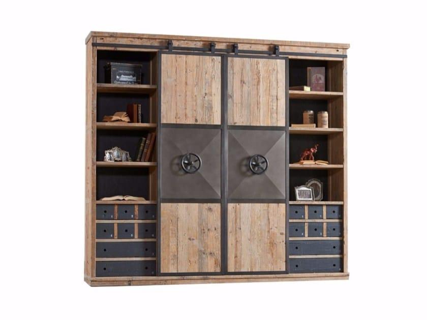 Pine bookcase DB003553 | Bookcase - Dialma Brown