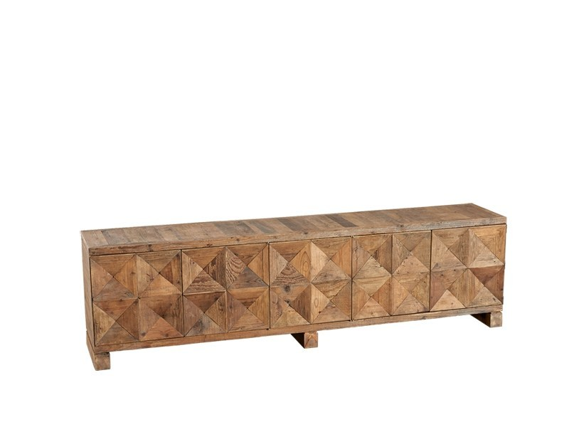 Wooden sideboard with doors DB003958 | Sideboard with doors - Dialma Brown