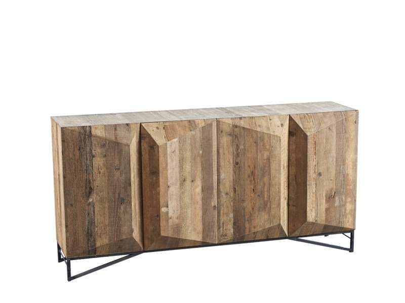 Pine sideboard with doors DB003991 | Sideboard with doors - Dialma Brown