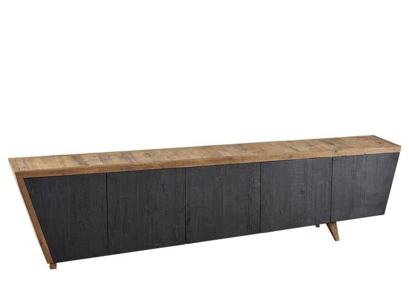 Reclaimed wood sideboard with doors DB004120 | Sideboard with doors - Dialma Brown