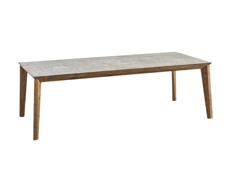 Rectangular dining table DB004122 - Dialma Brown