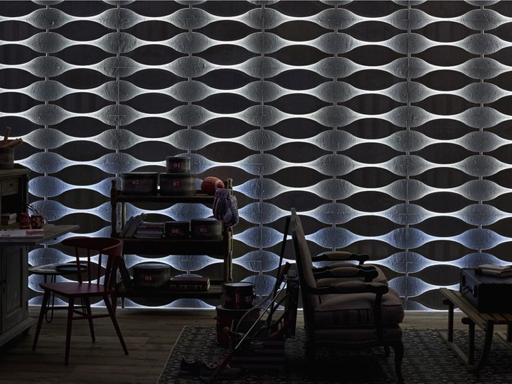 Indoor cement wall tiles DB004167 | Wall tiles - Dialma Brown