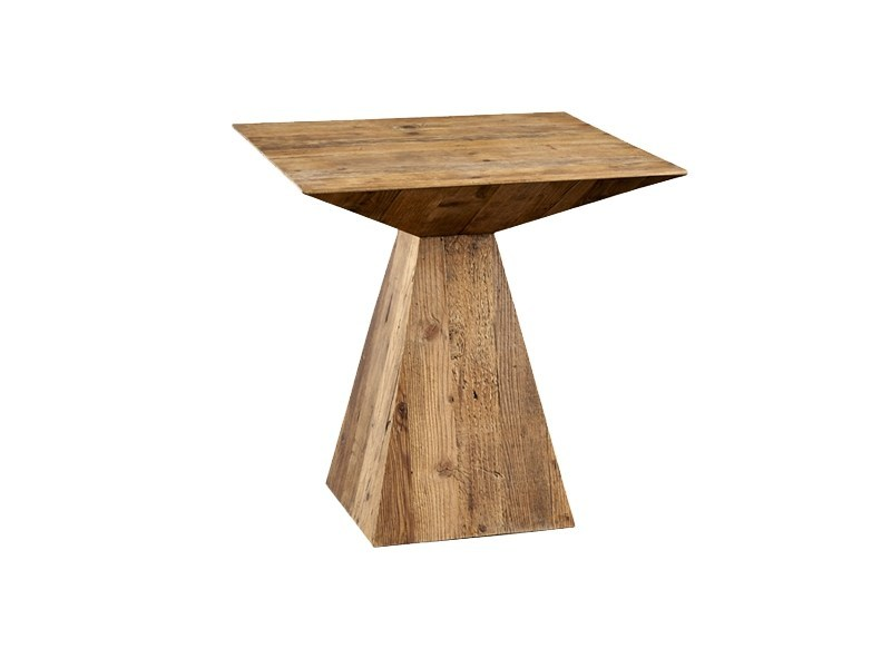 Square pine dining table DB004428 by Dialma Brown