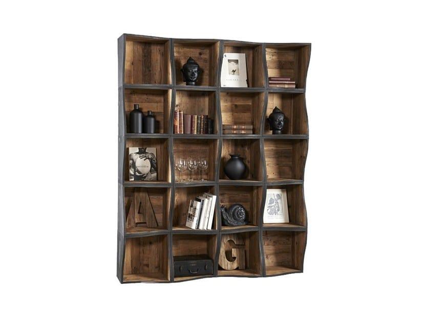 Open pine bookcase DB004460 | Modular bookcase - Dialma Brown