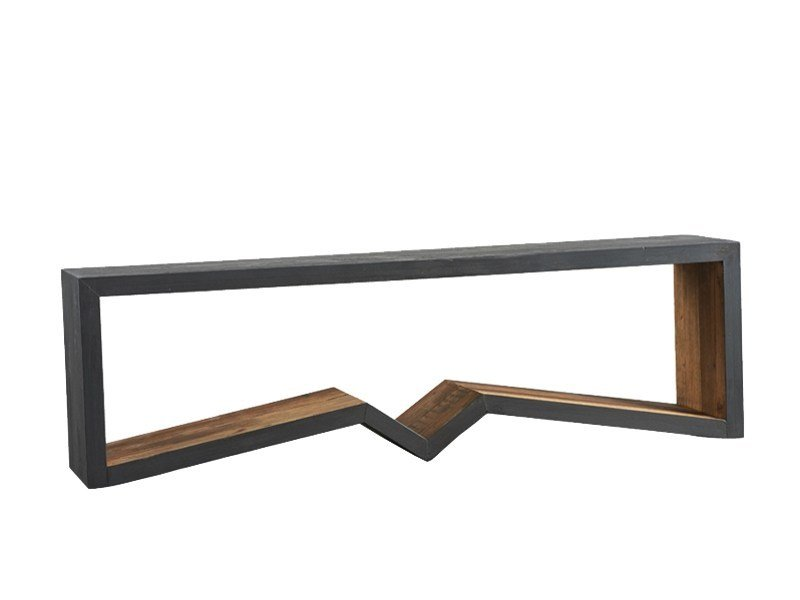 Lacquered pine bench DB004495 | Bench - Dialma Brown
