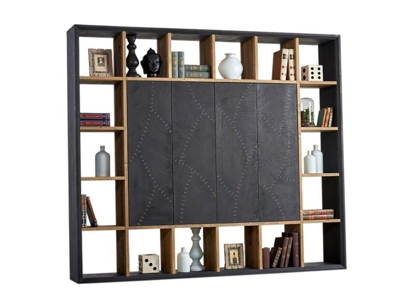 Libreria laccata in pino DB004547 | Libreria - Dialma Brown
