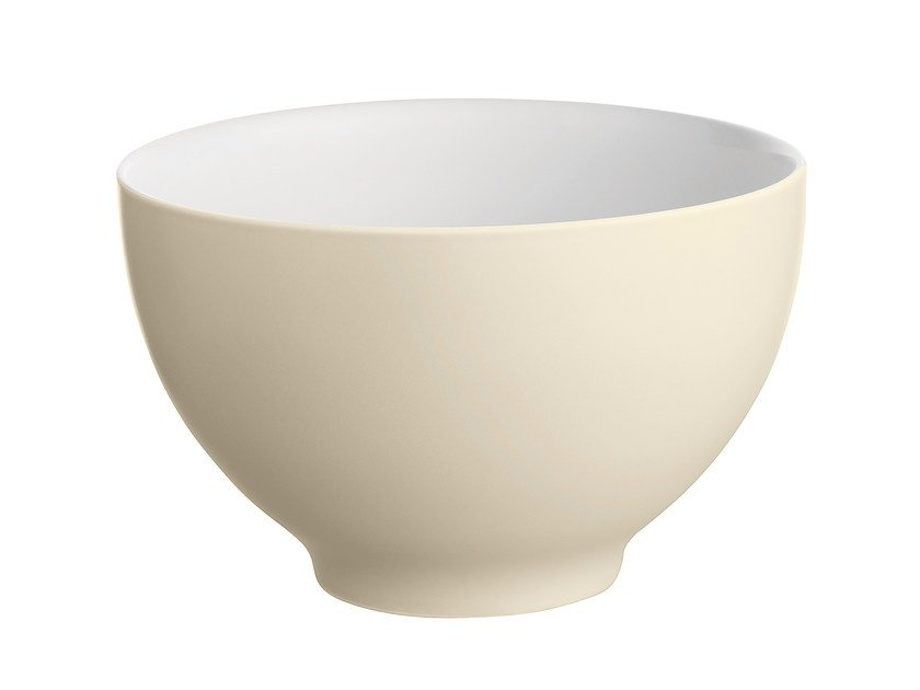 Ceramic serving bowl DC03/3 PY | Serving bowl - ALESSI
