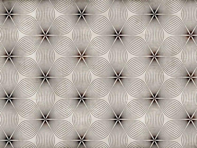 Glass-fibre textile with floral pattern DE-19 by MOMENTI