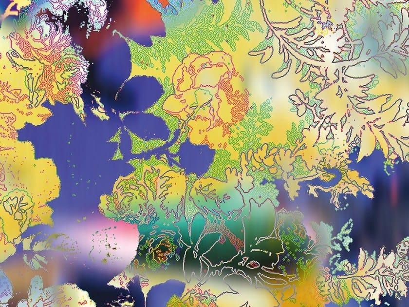 Motif non-woven paper wallpaper DE BLUR - EXTRATAPETE