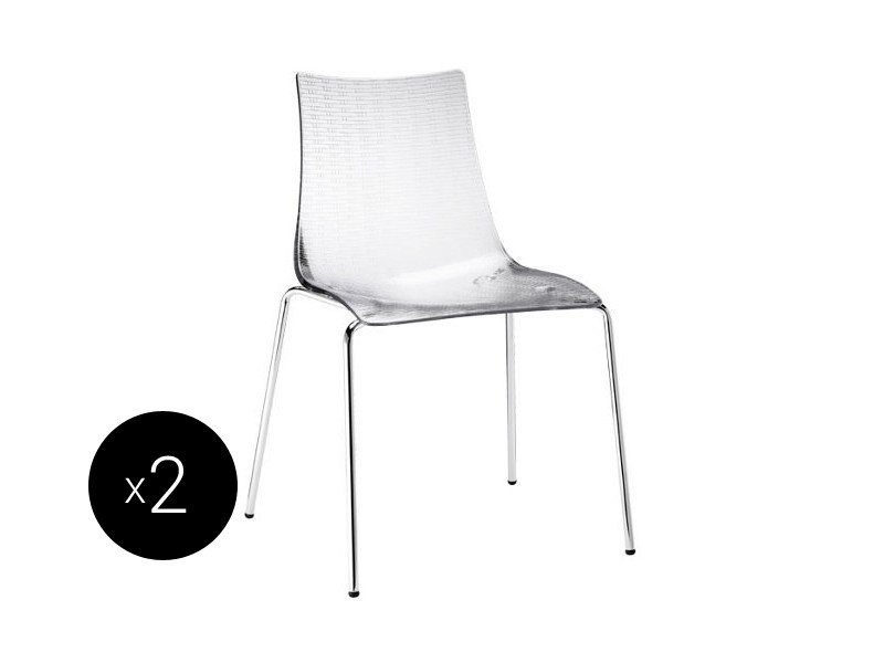 Ergonomic stackable chair DEA ANTIGRAFFIO | Chair - SCAB DESIGN