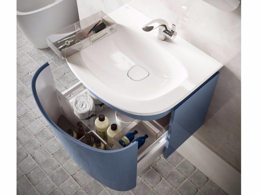 Single wall-mounted vanity unit DEA - T7853 - Ideal Standard Italia