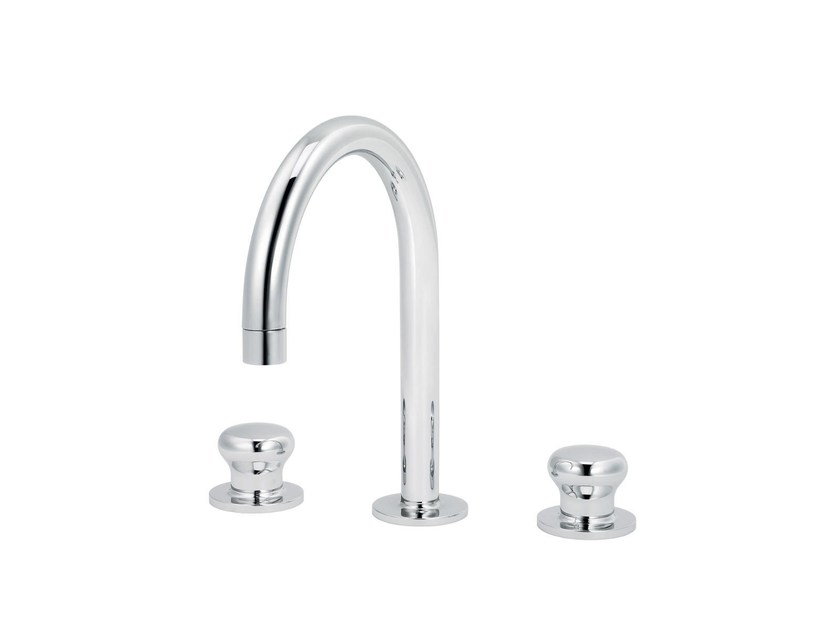 3 hole countertop washbasin mixer DEAUVILLE | 3 hole washbasin mixer - rvb