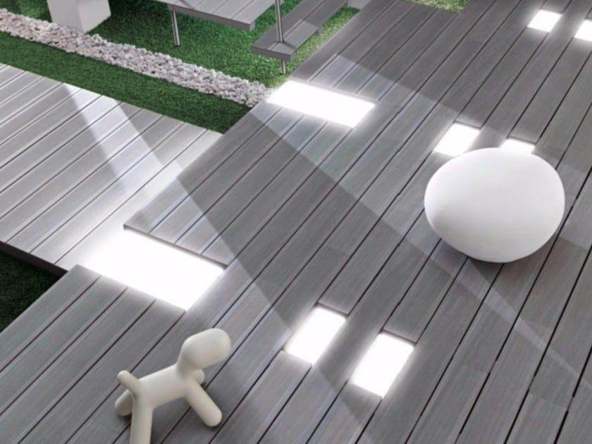 Pavimento para exteriores com efeito de madeira deck by - Pavimento para exterior ...