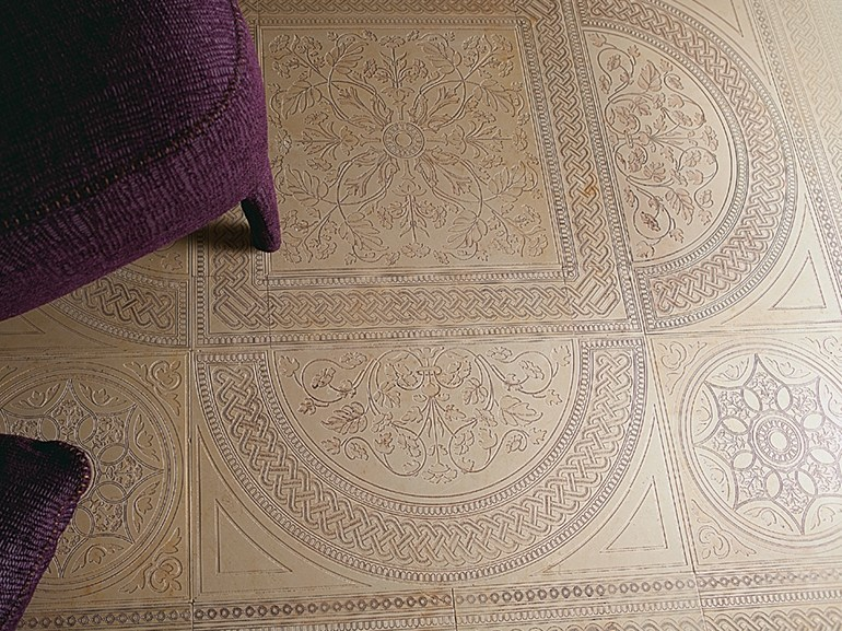 Marble wall/floor tiles DECO' - CATTEDRALE A - Lithos Mosaico Italia - Lithos