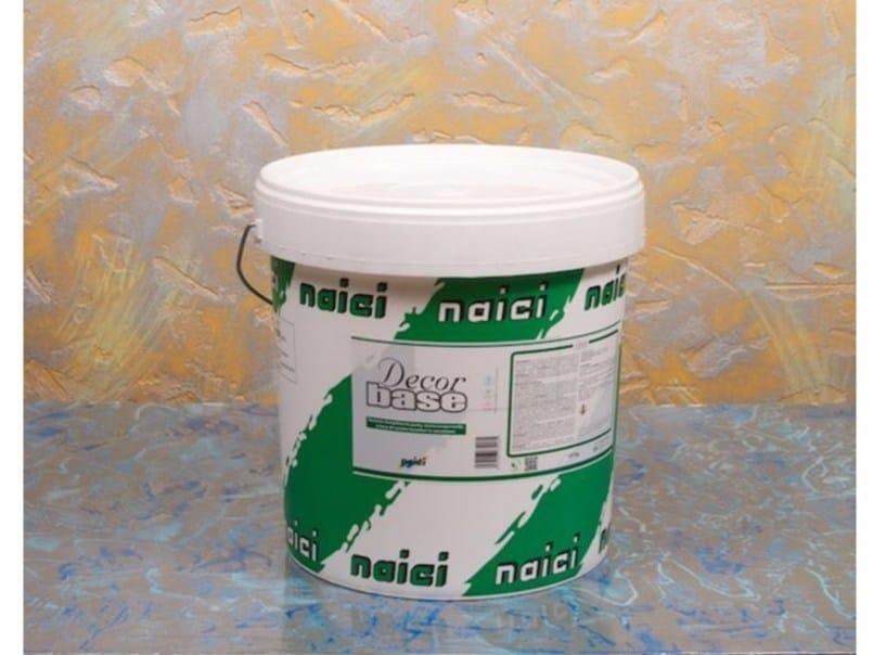 Smoothing compound DECORBASE by NAICI ITALIA