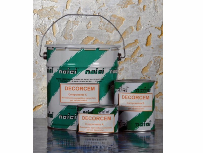 Synthetic material wall/floor tiles DECORCEM - NAICI ITALIA