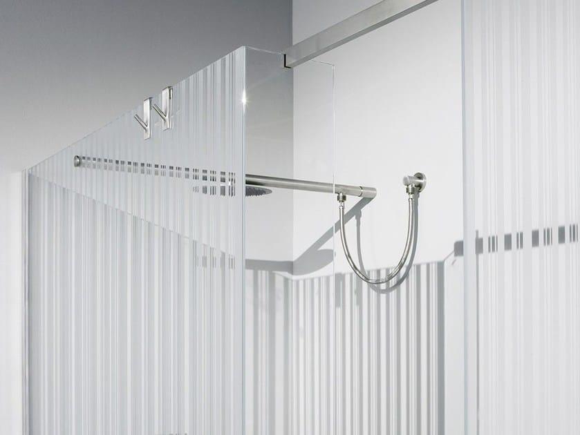Glass shower wall panel DECORI - Antonio Lupi Design®