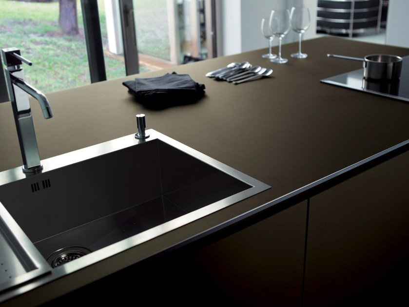 Stained glass kitchen worktop DECOROPAL® by OmniDecor®