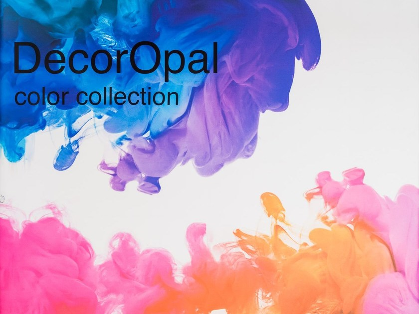 Colored glass DECOROPAL® - OmniDecor®