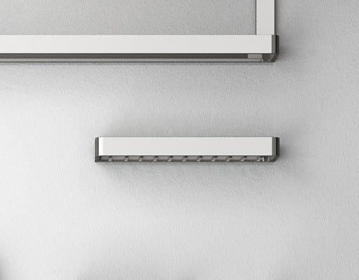 Brass bathroom wall shelf DEEP | Bathroom wall shelf - mg12
