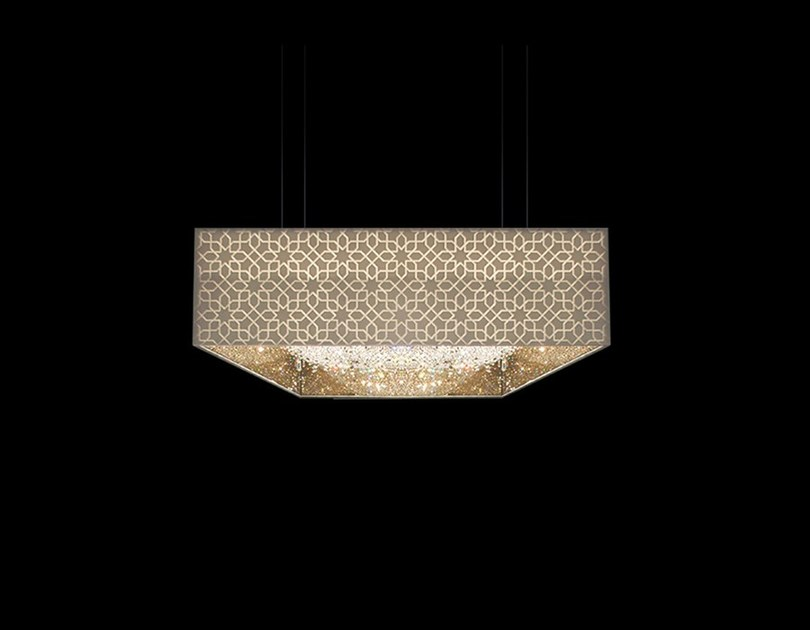 Crystal pendant lamp DEEP SKY ORIENT | Crystal pendant lamp by Manooi