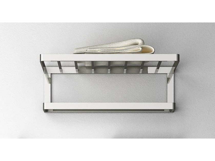 Brass towel rack / bathroom wall shelf DEEP by mg12