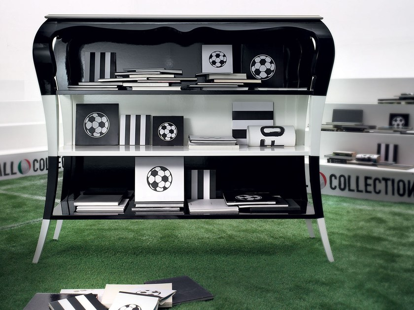 Open lacquered bookcase DEFENDER by Modenese Gastone