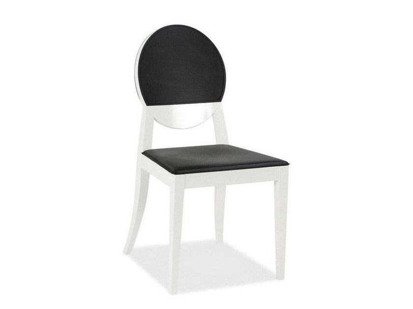 Medallion upholstered chair DEJA VU - Calligaris