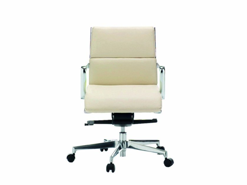 Low back executive chair DEKORA PLUS | Executive chair - Quadrifoglio Sistemi d'Arredo
