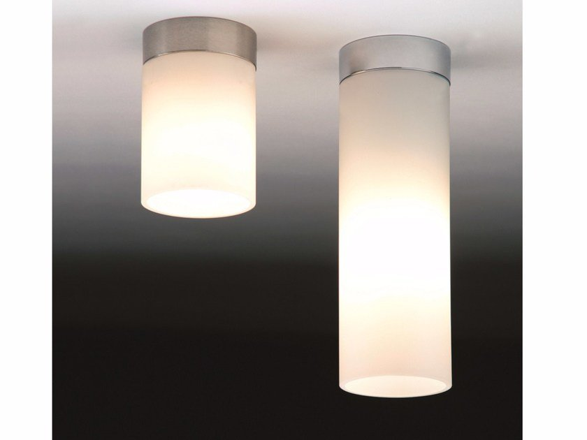 Halogen glass ceiling lamp DELA BOX by Top Light