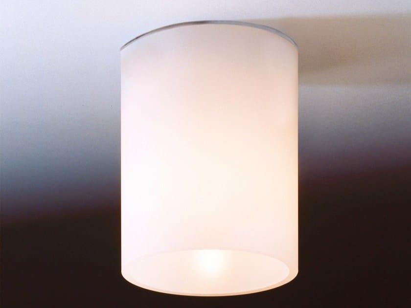 Lampada da soffitto alogena in vetro DELA - Top Light