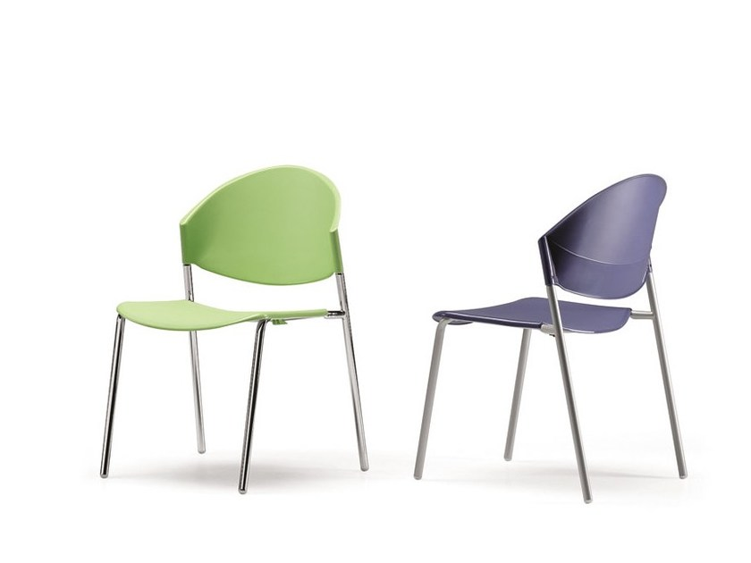 Stackable polypropylene chair DELFI 083 | Polypropylene chair - TALIN