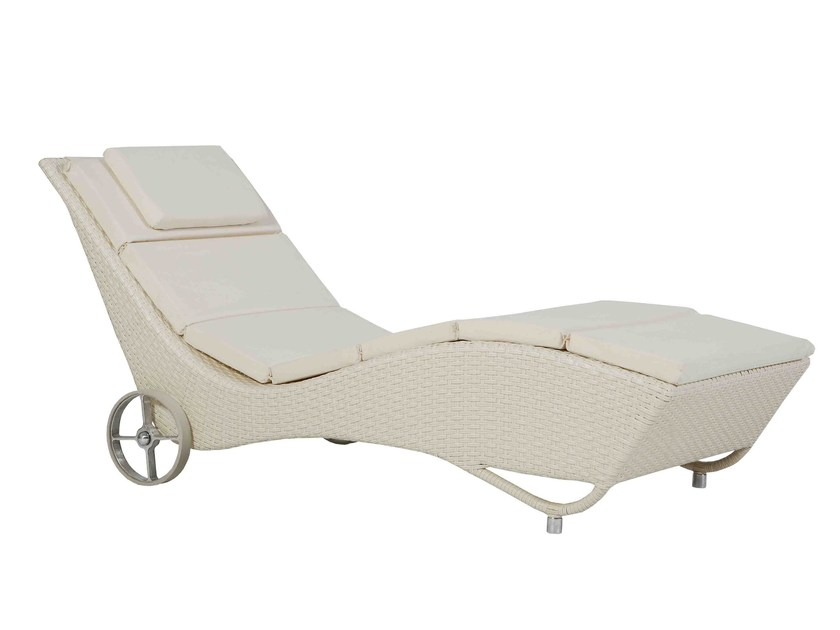 Garden daybed with Casters DELFINO | Garden daybed by Atmosphera