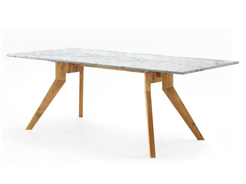 Rectangular custom table DELTA - Oliver B.