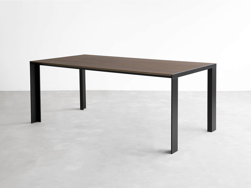 Rectangular wooden table DENEB | Wooden table - STUA